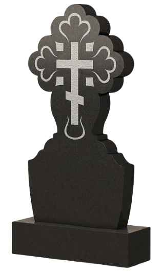 православный крест из гранита