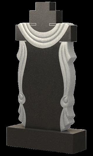 крест из гранита с плащаницей